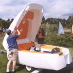 Clamboat Mark II: No Trailer Needed