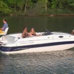 Ebbtide Campione 210 Fun Cruiser: Deck Boat Boasts Outboard Power