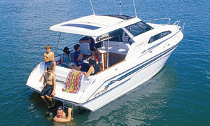 The Cruisemaster 700 is designed for family getaways.