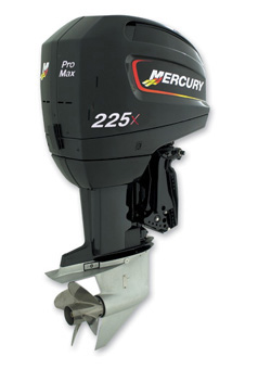 Mercury Pro Max 225X Outboard with SmartCraft Technology