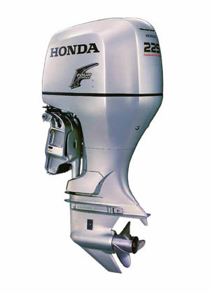 Honda BF225 Four-Stroke Outboard - boats com