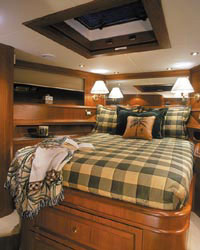 Guest staterooms accommodations were comfortable and elegant.