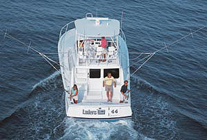 The 44 Convertible is the latest model to be transformed in a remake of the Luhrs line.