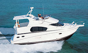 The 35 Motor Yacht makes a good case for stepping up from an express cruiser.