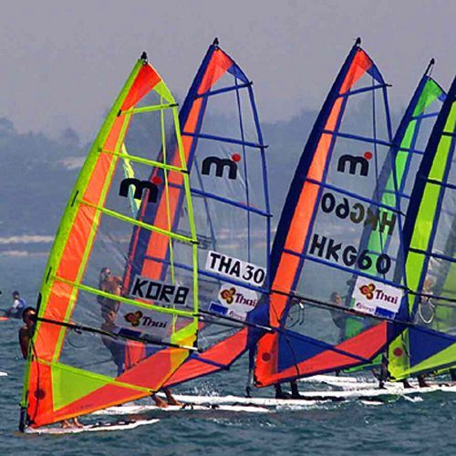 Yachting, Windsurfing, Mistral One Design and the Olympic