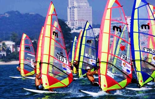 Yachting, Windsurfing, Mistral One Design and the Olympic Games