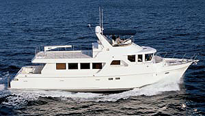 The 700's fast cruising speed is 18.6 knots, at 2,150 rpm. At this speed, the boat gets .3 mpg.