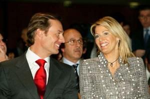 Ernesto and Kirsty Bertarelli. Photo: Carlo Borlenghi/ACM