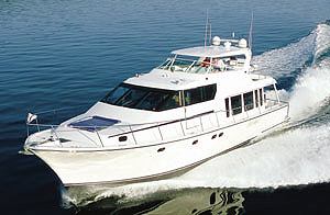 The new Pacific Mariner 65 Diamond Edition sells as a complete cruise-away package.