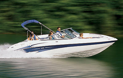 Top speed for the Yamaha SX230 was 47.2 mph.