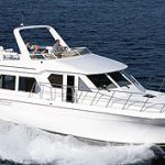 Navigator 48 Classic Pilothouse: Sea Trial
