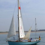 """Two """"Fine Old Ladies"""" Join Round The Island Race"""