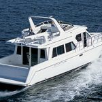 Navigator 57 Rival Pilothouse: Sea Trial