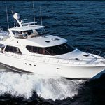 West Bay SonShip 68 Raised Pilothouse Motoryacht: Sea Trial