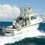 Parker 2820 XL Sport Cabin: Sea Trial