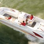 Hallett 285 Party Cruiser: Powerboat magazine Performance Report