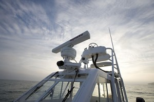 Eletronics include radar from Raymarine and a Thermo Vision Mariner system for nighttime vision.