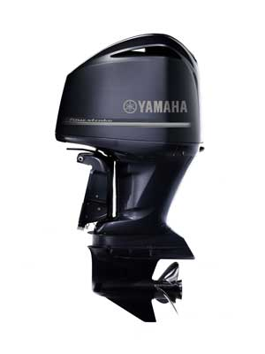 The outboard expert exclusive first drive of yamaha 39 s f for Large outboard motor stand