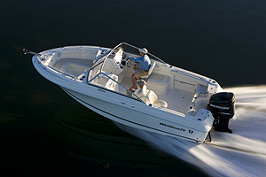 A multi-purpose boat in the truest sense, the 210 Sportsman provides a solid platform for a variety of on the water activities.