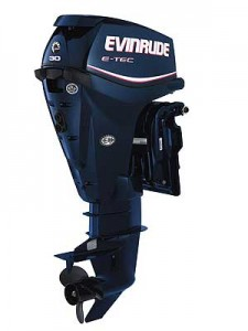 This new twin-cylinder E-TEC 30 and the matching E-TEC 25 help move the Evinrude line into the portable category. They will be the most compact E-TEC motors to date.