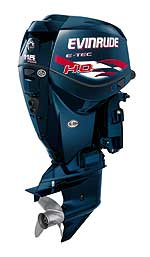 "A ""tuned up"" version of the standard E-TEC 115 V-4, this new Evinrude 115 H.O. does not have a power rating and will be a good match for smaller bass and walleye boats."