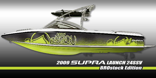 Photo of 2009 Supra Launch 24SSV BROstock Edition