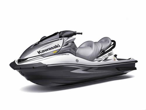Kawasaki Jet Ski Ultra 260X Pours on the Power - boats.com