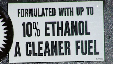 The ethanol content of motor fuel, currently capped at 10 percent, could go up to 15 percent if the EPA grants a waiver requested by a pro-ethanol trade group. The marine industry fears high ethanol blends would have a disastrous effect on boat engines and fuel systems.