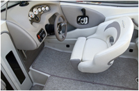 230SX cockpit view.