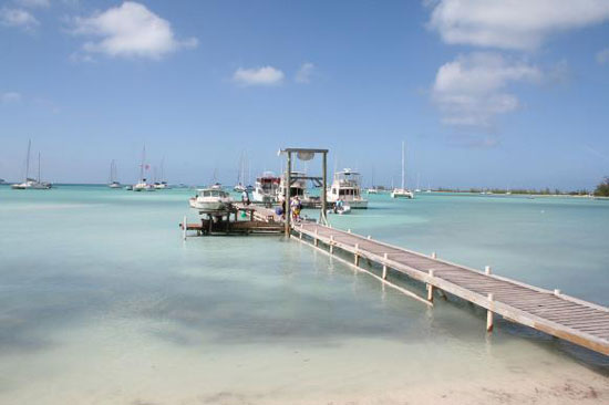 Anegada offers a protected harbor to cruisers.