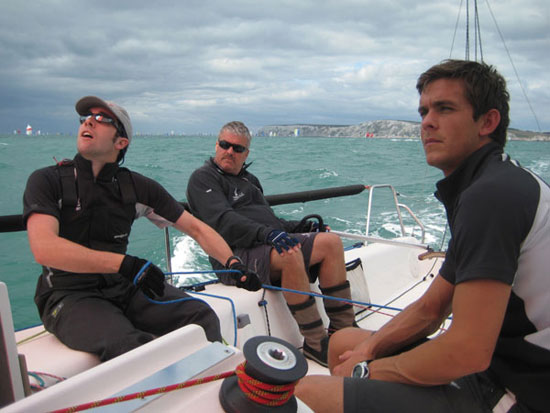 Concentrating downwind, after the Needles