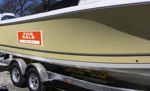 Many great deals on used boats can be found right here on boats.com