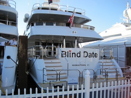 The brand new 160-footer by Trinity at the 2009 Fort Lauderdale Boat Show