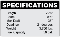 bayliner225-specifications
