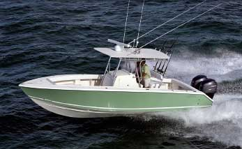 Jupiter Marine made its name with center console fishing boats.