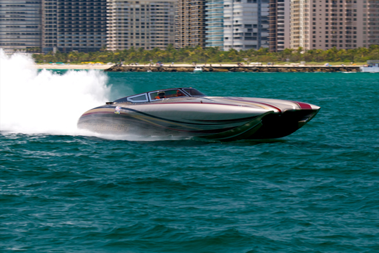 statement s new 50 foot cat was the first pleasure boat to complete