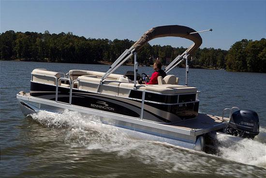 187 Bennington 20 Sli A Quality Pontoon Boat