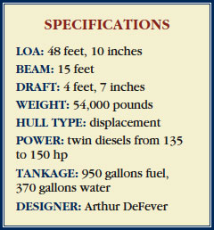 DeFever49 Specifications