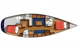 Sabre 456 layout