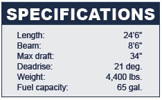 Chaparral 246SSi Specifications