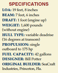 Seacraft 20 Specifications