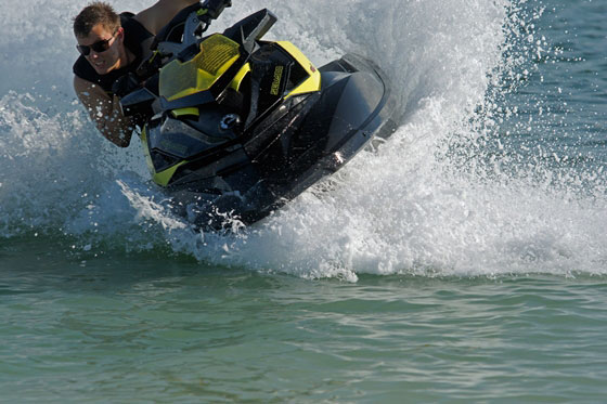 Sea-Doo RXP-X 260: High Response