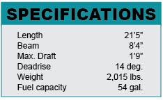 Ranger 220 Bahia specifications
