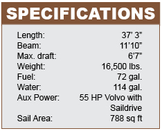 Hallberg-Rassy 372 specifications