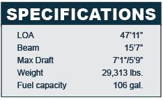 Beneteau Oceanis 48 specifications