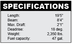 Nitro 290 Sport specifications
