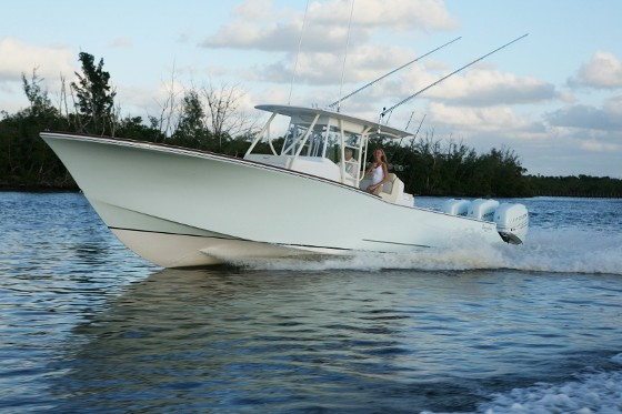 bonadeo 368 walkaround custom fishing boat