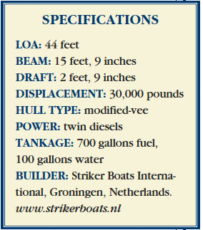 Striker 44 specifications