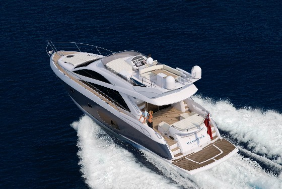 Sunseeker 53 Manhattan running