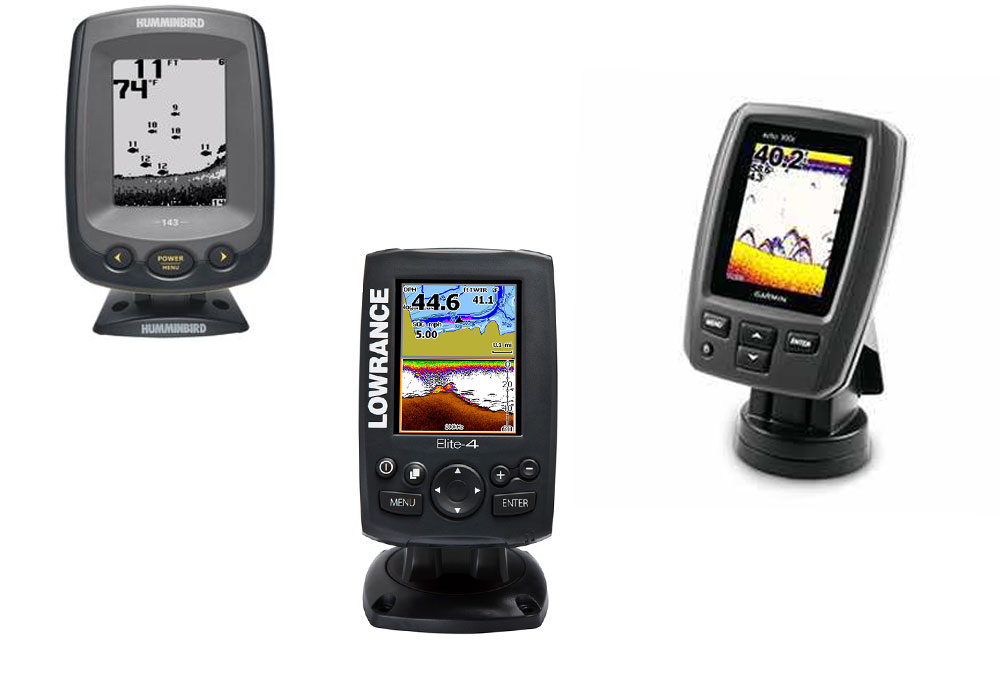 top 3 fishfinders under $300: humminbird vs. lowrance vs. garmin, Fish Finder